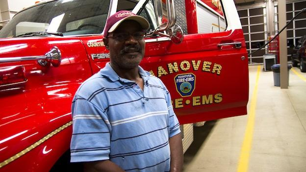 Marvin Anderson was exonerated in 2002, after serving 15 years in prison for a crime he did not commit. He now drives tucks for a living, and is the volunteer fire chief in Hanover, Va.