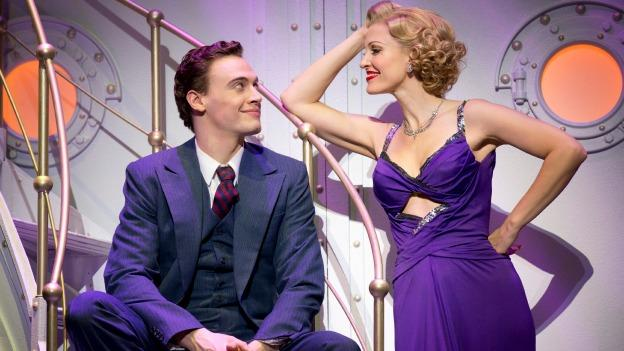 In Anything Goes, a loud-mouthed showgirl and a novice broker embark on a maritime journey to true love.