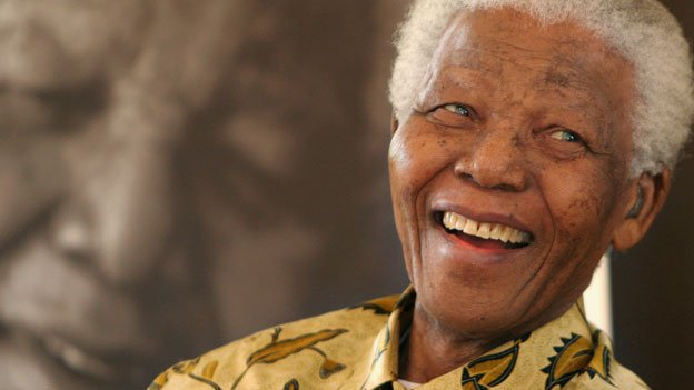 Nelson Mandela, in this 2005 file photo, was an inspiration to generations of civil rights leaders.