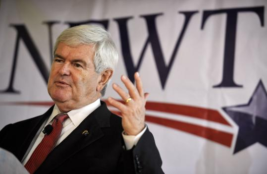 Republican presidential candidate former House Speaker Newt Gingrich speaks during a campaign stop, Friday, Dec. 23 in Columbia, S.C. Gingrich said then that he would gather enough signatures to make the Virginia ballot, but over the weekend he failed to qualify.