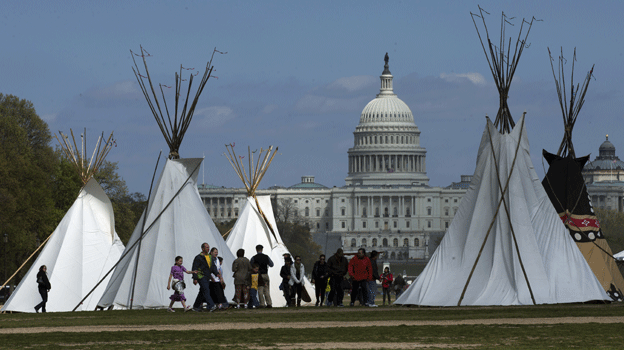 Some Native American groups say sacred lands would be scarred by a proposed pipeline.