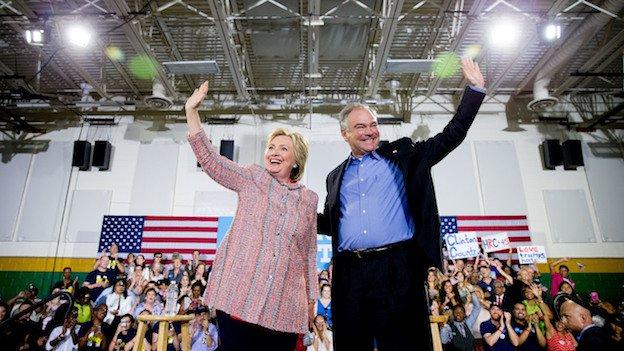 Hillary picks Tim Kaine for running mate