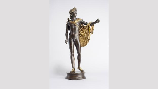Antico's Apollo Belvedere and his bronze friends spend a few months at the National Gallery of Art.