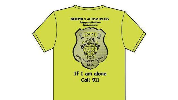"At the event on Thursday, police will hand out t-shirts that say, ""If I am alone, call 911."""