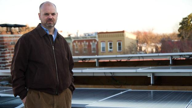 Mike Barrette installed his first set of solar panels in 2010. Now, panels cover his roof, and provide 80 to 90 percent of his electricity.