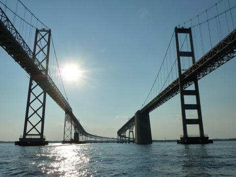 The Chesapeake Bay Bridge