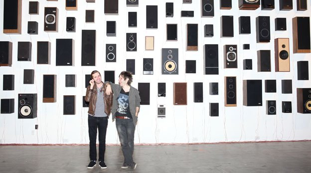 Fermata co-curators Hays and Ryan Holladay are the duo behind the experimental music group, Bluebrain.