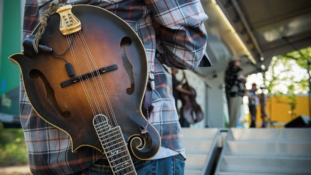 The Kingman's Island Bluegrass and Folk Festival is in its fifth year.