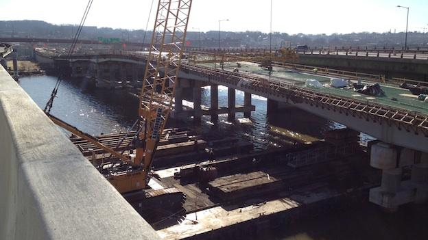 This bridge will carry local traffic between Anacostia and Capitol Hill. It will open later this year.