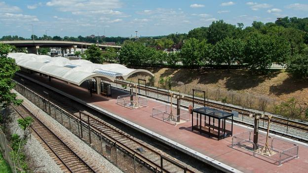 Brookland is one of five stations that Metro officials are looking to develop.