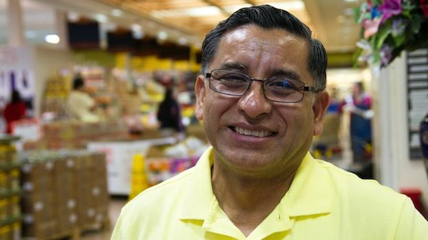 "Carlos Castro, owner of Todos Supermarkets in Prince William County. One of his stores recently hosted Democrat Terry McAuliffe, who applauded Castros' growing business, saying ""That is the American success story."""