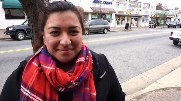 Ingris Moran, 20, is a life-long resident of Arlandria-Chirilagua, a neighborhood on the northern edge of Alexandria. She's a student, and a board member at Tenant and Workers United, which advocates for fair housing.
