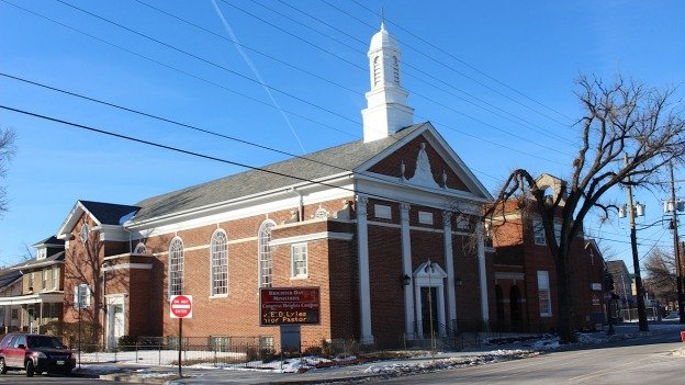 Brighter Day Ministry, once known as AP Shaw, in Congress Heights.