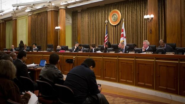Two D.C. councilmembers are vying to replace Kwame Brown as D.C. Council Chairman.