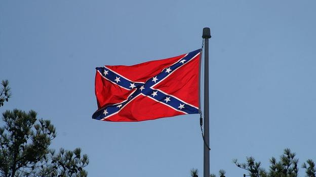 A Confederate flag will soon fly along I-95 south of Richmond.
