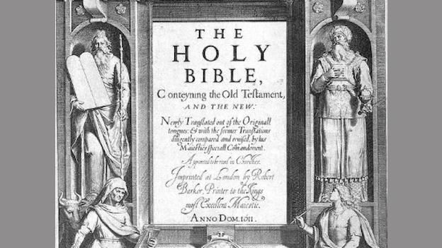 The King James Bible is one of the most widely read and published books in the history of man and Folger Shakespeare Library knows it.