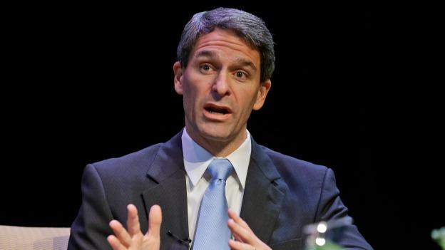 Republican gubernatorial candidate, Virginia Attorney General Ken Cuccinelli, speaks during a gubernatorial forum at the University of Richmond in Richmond, Va., Thursday, Oct. 10, 2013. Cuccinelli is facing Democrat Terry McAuliffe in November's election.