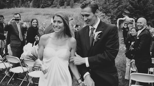 Date Labbers Daniel Zielaski and Anna Zielaski (née Russell) got married last June in Missoula, Montana.
