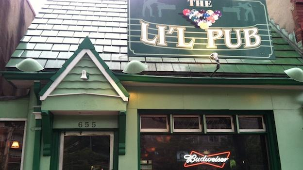 Lil Pub, a dive bar located in the Capital Hill neighborhood of Washington, D.C.