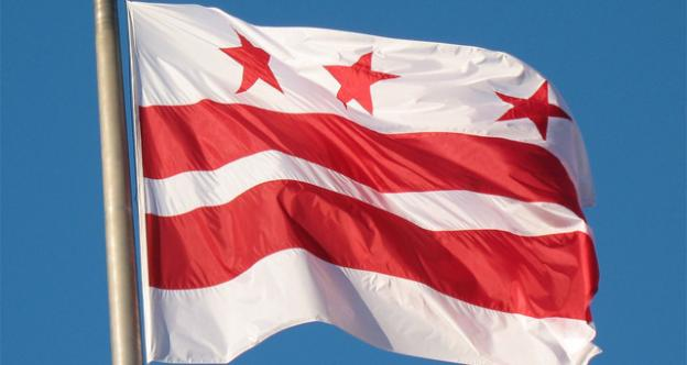 The D.C. flag isn't given the same respect by the military as state flags from around the country.