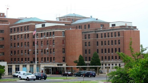 The former D.C. General hospital has been used as an emergency shelter for families in recent years.