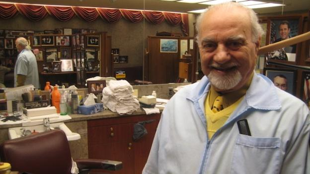 Joe Quatrone has worked as a barber on Capitol Hill for 42 years.  Previously, he worked as a barber in the Pentagon after immigrating to the US from Italy in 1952.