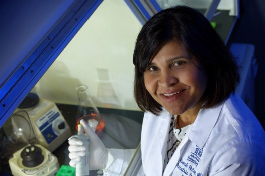 Dr. Deborah Persaud, a virologist at Johns Hopkins Children's Center, was recognized for her research into curing infants born with HIV.