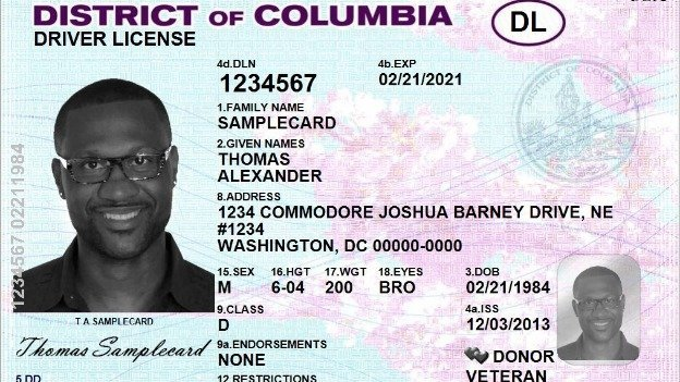 D.C.'s new driver's licenses have taken on a new look, and those that are federally compliant will include a star in the upper right-hand corner.