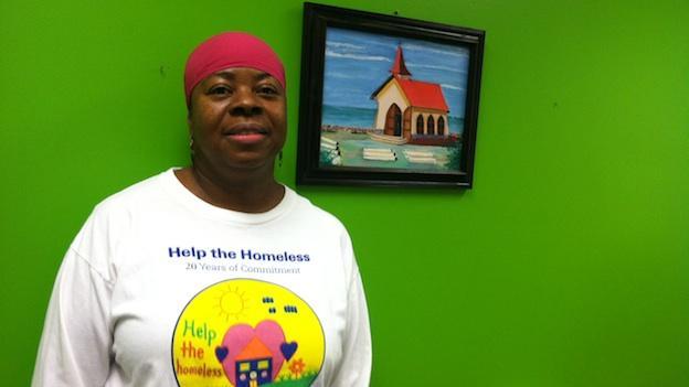 Willa Jones of Deanwood in Northeast, D.C. stands in her office.