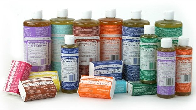 Dr. Bronner's Magic Soaps have attracted a cult following with their organic ingredients and wordy packaging.