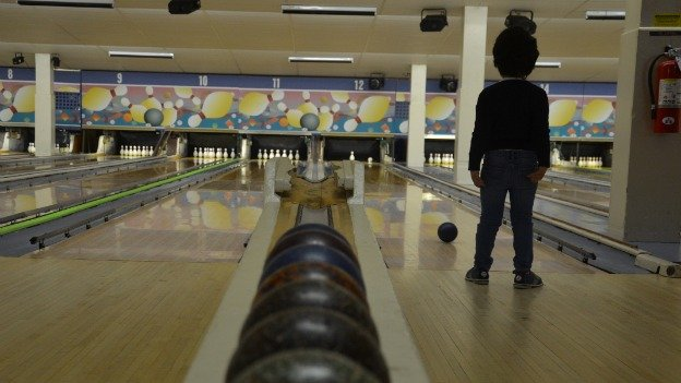 One of the last places in the region to partake in duckpin bowling is White Oak Duckpin Lanes in Silver Spring.