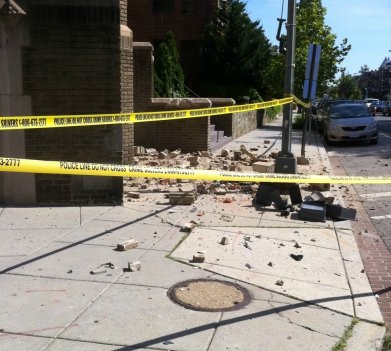 The 5.8-magnitude earthquake in 2011 left its mark across the D.C. region.