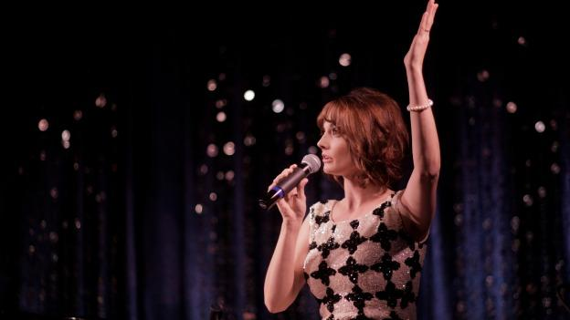 Gia Mora performs live at Lannie's Clocktower Cabaret in Denver. You can see her one-woman show, Einstein's Girl, tonight at Signature Theatre.