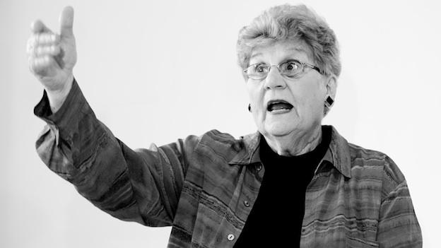 Storyteller Ellouise Schoettler will present her latest production, Arlington National Cemetary: My Forever Home, today at 2 p.m. on the grounds of the Women's Memorial.