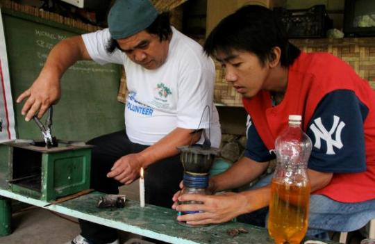 Oil from a tree in the Philippines may provide a new source of energy.
