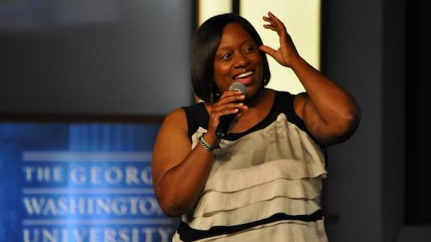 Comedienne Erin Jackson headlined last year's benefit show at George Washington University.