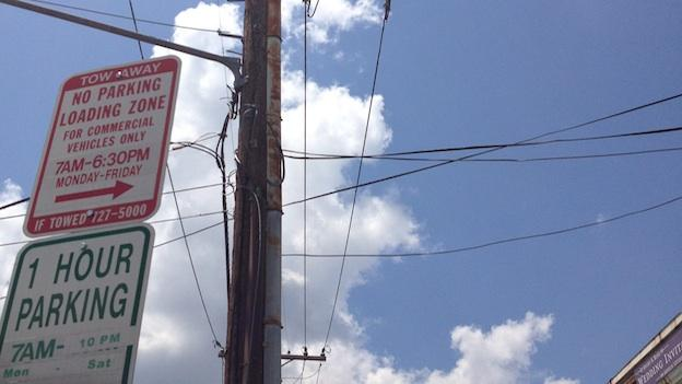 Can YOU tell which wire is part of the eruv?