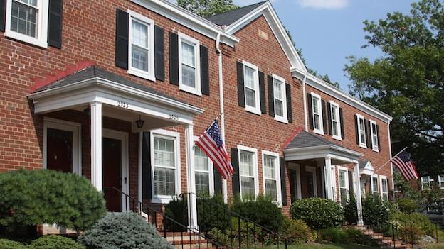 Image of homes in Fairlington, Va.