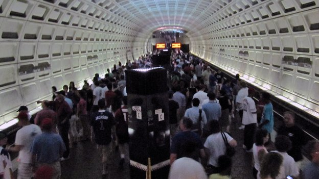 Crowded platforms — some dangerously so — are an all-too-common sight on Metro, say riders.