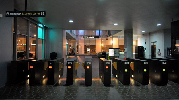 The Select Pass will get you through the fare gates a few times a month for free.