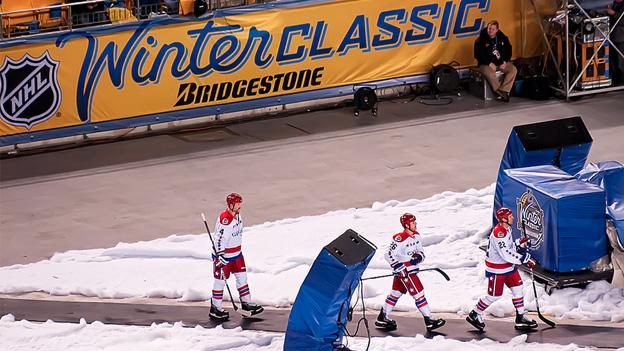A different cast of Washington Capitals bested the Pittsburgh Penguins in the 2011 Winter Classic in Pittsburgh.