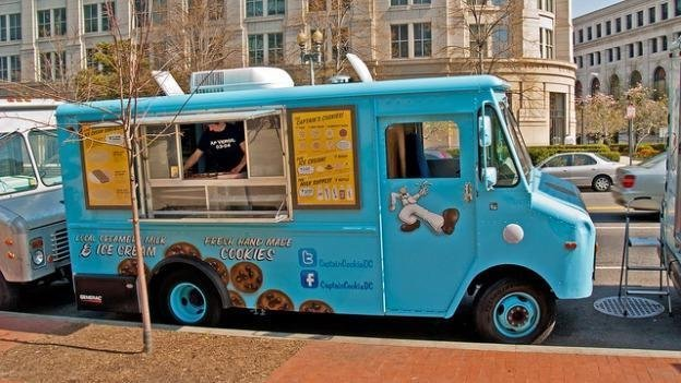 Food trucks will be allowed at Alexandria's parks and schools, but the streets in Old Town remain off-limits.