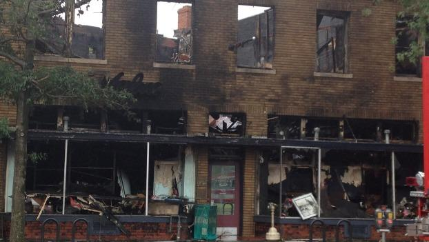The fire destroyed the 90-year-old hardware store on Pennsylvania Avenue SE.