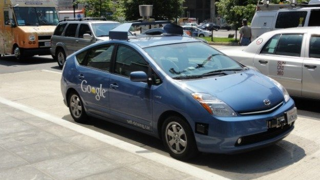 Google brought one of its self-driving Toyota Prius's to D.C. in 2012.