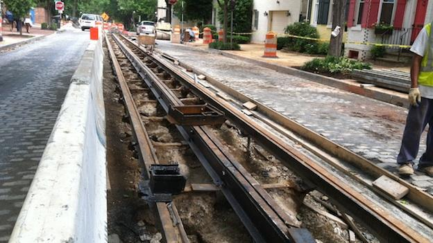 The reconstruction of O and P Streets in historic Georgetown is nearing completion after more than a year of painstaking work.