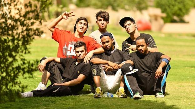 Half a dozen artists from the breakdancing group First Step Iraq are making a stop in D.C. as part of the Hiplomacy tour, which brings together Iraqi and American hip-hop enthusiasts.