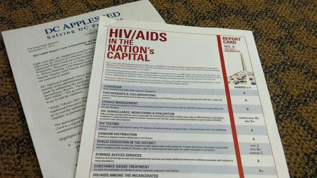 D.C. Appleseed's report assesses both how the city and how schools are doing in monitoring and addressing HIV/AIDS.
