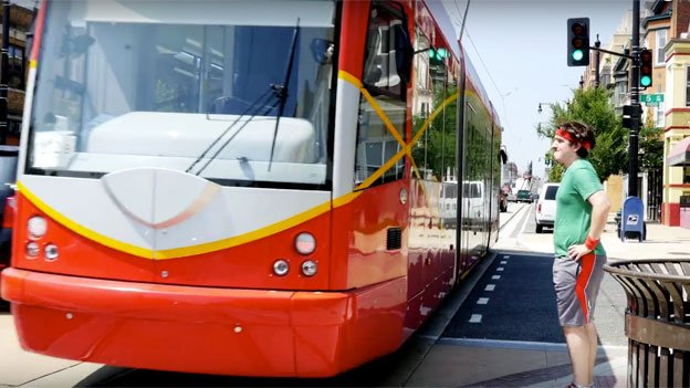 "DDOT released a ""how to ride the streetcar"" video Thursday on YouTube."