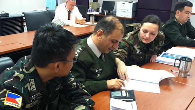 Troops at Maryland's Fort Meade study ways the Pentagon is preparing its partners from other countries.