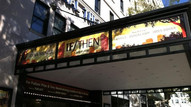 """If/Then"" is making its pre-Broadway world premiere at the National Theatre."